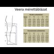Veera kompressziós combfix 70 DEN Fekete 1-2