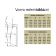 Kompressziós térdharisnya, 70 DEN, 3-4-es méret (testszín)