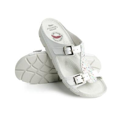 Dr. Batz Gaudi női papucs divatos utcai viselet, extra könnyű, rugalmas talpszerkezet, anatómiai kialakítású talpszerkez