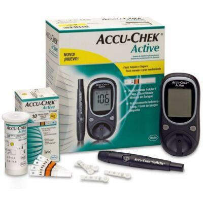 A vércukormérőből és tesztcsíkokból álló vércukormérő készülék önmonitorozásra és professzionális területen való használatra alkalmas. Segítségével a diabéteszes betegek saját maguk is ellenőrizhetik vércukorszintjüket.
