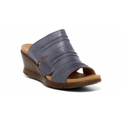 Romika Nevis 02 jeans női bőr kényelmi papucs bőr felsőrésszel, kényelmes lábággyal
