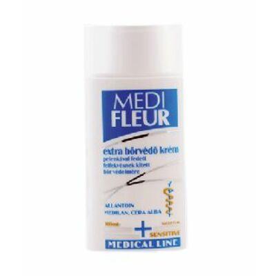 A MEDIFLEUR extra bőrvédő krém a pelenkával fedett bőrfelületen gyermek popsi krémként, illetve felnőttkori speciális bőrvédő krémként (inkontinencia esetén) a bőrpír kialakulásának megelőzéséhez, valamint a felfekvések megelőzésére is használható.