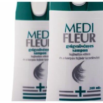 Medifleur gyógynövényes sampon hajhullás, korpásodás ellen 200ml