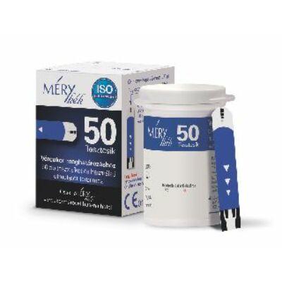 A MÉRY kék tesztcsík a MÉRY kék 1000 vércukormérő készülékekkel használható.