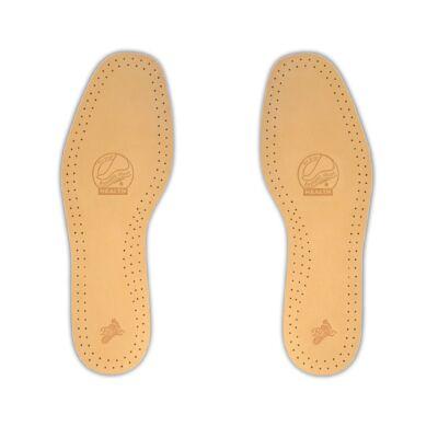 Dr. Batz 940 Leather Comfort növényi cserzésű, prémium bőr borítású talpbetét, aktív szenes, gombásodást és izzadást megelőző réteggel