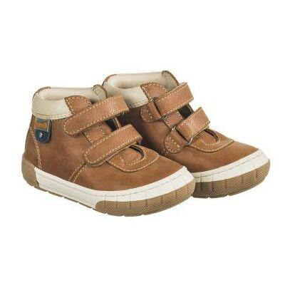 MEMO babacipő NODI, barna. 19-21-es méretekben kapható, egy tépőzáras; puha, rugalmas talpú zárt cipő a legkisebbeknek ahidegebb, esősebb napokra.