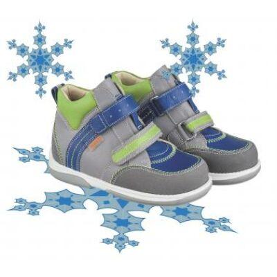 MEMO gyerekcipő POLO junior bélelt kék