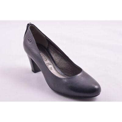 Gerry Weber Kate 01 blau női bőr magassarkú kényelmi félcipő