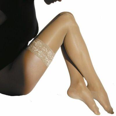 Maxis Relax AG combtőig érő kompressziós harisnya a bokától a comb irányában csökkenő, meghatározott nyomásviszonyokkal. Megelőzi a cellulitis megjelenését: megelőzi a zsírok lerakódását a zsírsejtekben.