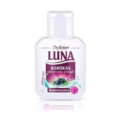 LUNA Borókás sósborszesz gél - reumasszázs - 150 ml
