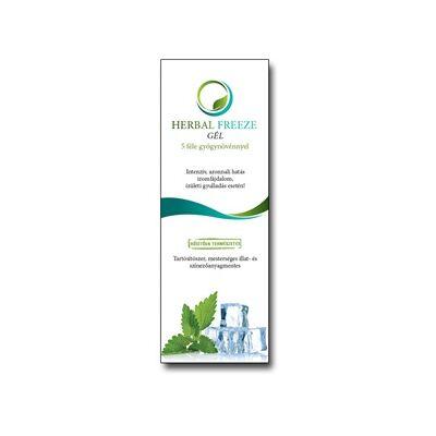 Herbal Freeze gél 5 féle gyógynövénnyel