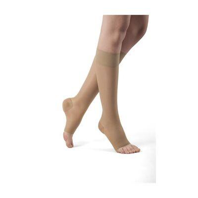 Kompressziós térdharisnya, 70 DEN, 3-4-es méret (testszín/nyitott lábfejjel)