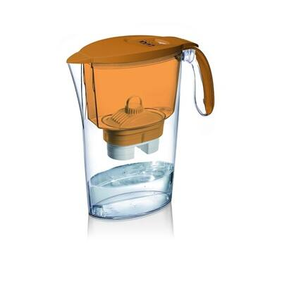 Clear Line  narancssárga vízszűrőkancsó