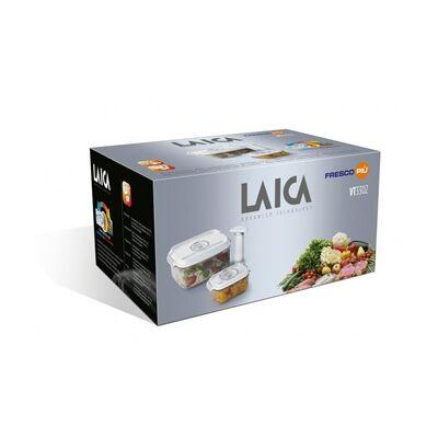 Laica 3db -os prémium vákuumozható doboz szett 2L-es + 0,5 L-es téglalap doboz + pumpa