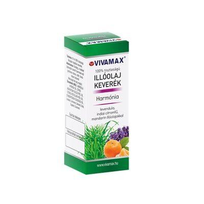Harmónia illóolaj keverék: levendula, indiai citromfű és mandarin olajokkal (10ml)