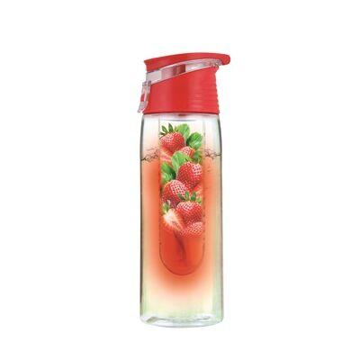 Limonádé készítő palack, 750 ml - Piros