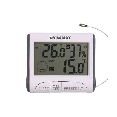 Páratartalom és Hőmérő kültéri érzékelővel