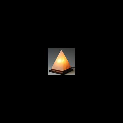 Himalájai sókristály lámpa – piramis (kb. 2 kg)