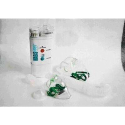 Az ultrahangos inhalátor a porlasztandó gyógyszerből az aeroszolt egy nagyfrekvenciával rezgő kerámia segítségével képzi. Zajkibocsájtása igen alacsony. A termék vényköteles!