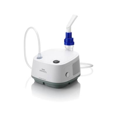 Philips Respironics Innospire Essence kompresszoros inhalátor. Folyadék (aeroszol) bevitelére szolgál a légutakba.Vényköteles!
