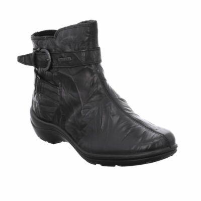 Romika Cassie 36 black vízálló kényelmi bokacsizma Top Dry Tex® membrán lélegző, vízálló védelemmel