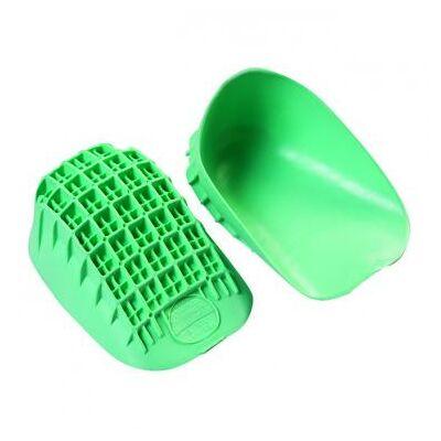 Különleges, hőre lágyuló prémium minőségű rugalmas gélből készült sarokcsésze, mely számos betegség, lábprobléma esetén enyhülést hoz - fokozott igénybevétel esetén is.