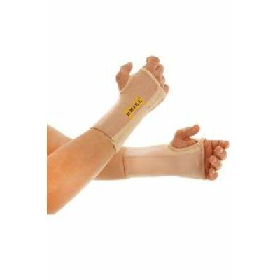 Erős tartást biztosít a csuklónak és minimalizálja annak mozgását. Ajánlott törések esetén, a gipsz eltávolítása után, illetve a szalagok, izmok vagy inak sérülésekor, valamint ínhüvely gyulladás estén.