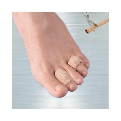 Henger alakú szövettel bevont szilikon gél. Enyhíti, illetve megakadályozza a lábujjakat érő nyomás, dörzsölés okozta fájdalmakat.
