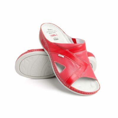A valódi bőrből készült Dr. Batz Viki csúszásmentes járófelülettel és extra puha zselés lábággyal szolgálja viselője kényelmét. Több színben kapható!